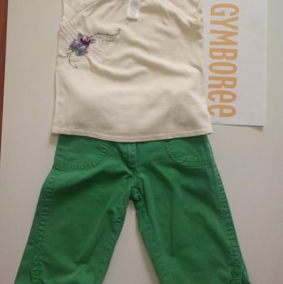 GYMBOREE Pants and Top Set